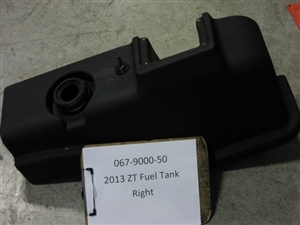 2013 ZT Fuel Tank-Right - Bad Boy Part# 067-9000-50