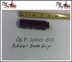 Rubber Brake Grip- CZT/ZT 2013 - Bad Boy Part # 069-7000-00