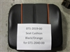 Black/Orange Seat Cushion -Bad Boy Part# 071-2019-00