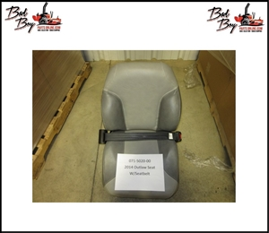 2014 Outlaw Seat w/Seatbelt - Bad Boy Part# 071-5020-00