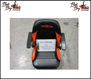 2016 Base/Compact Outlaw Seat - Bad Boy Part# 071-5055-00