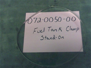 Fuel Tank Clamp - Bad Boy Part# 072-0050-00