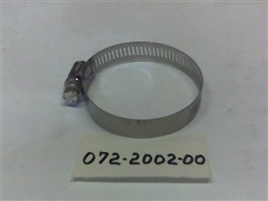 2-1/2 Hose Clamp - Bad Boy Part# 072-2002-00