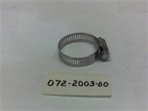 1 1/8 Hose Clamp - Bad Boy Part# 072-2003-00