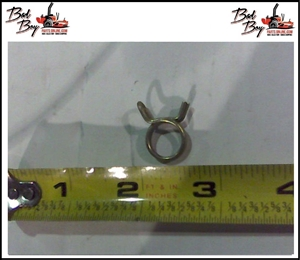 1/4 Fuel Line Clamp - Bad Boy Part # 072-8069-00