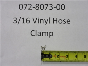 "3/16"" Vinyl Hose Clamp - Bad Boy Part# 072-8073-00"
