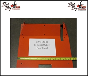Compact Outlaw Floor Panel - Bad Boy Part# 079-3120-00