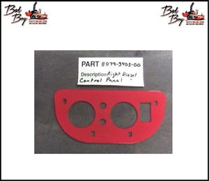 Diesel Control Panel Right - Bad Boy Part# 079-34056-00