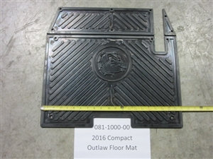 2016 Compact Outlaw Floor Mat - Bad Boy Part# 081-1000-00