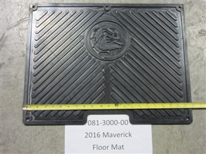 2016 Maverick Floor Mat - Bad Boy Part# 081-3000-00
