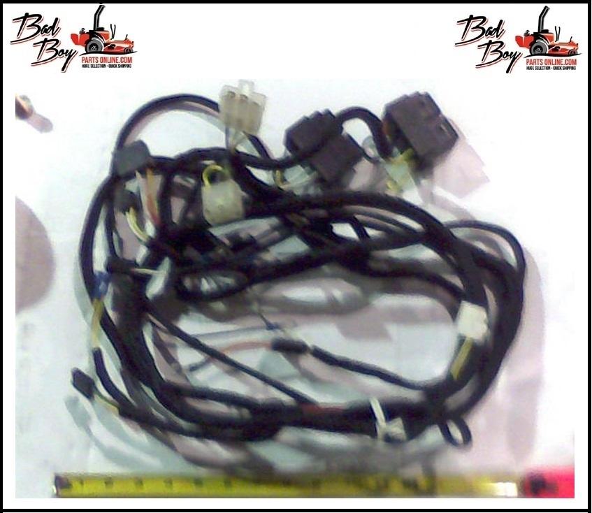 Wiring Harness - 27hp Kawasaki - Bad Boy Part # 086-2004-00 on bad speaker, bad safety harness, bad transformer, bad torque converter, bad ignition coil, bad speed sensor, bad fuel filter, bad spark plugs,