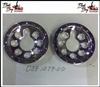 "6"" Wheel Cover -  Front - Pair - Bad Boy Part# 088-1079-00"