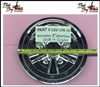 8 Inch Wheel Cover (Single) - Bad Boy Part# 088-1080-00