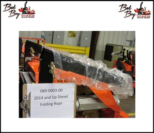 2014 Diesel 2x3 Folding ROPS - Bad Boy Part# 089-0003-00