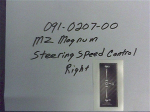 Magnum Steering Speed/Brake - Bad Boy Part # 091-0207-00