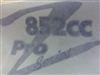 Z 852cc Pro Series Decal - Bad Boy Part # 091-0852-00