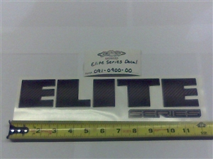 2013 Elite Decal-Grill - Bad Boy Part # 091-0900-00