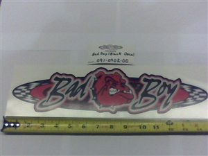 2013 cZT/ZT Logo Decal-Floorboard - Bad Boy Part # 091-0902-00