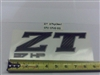 2013 ZT Back Panel Decal-27hp - Bad Boy Part # 091-0910-00