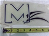 MZ Logo Domed Decal - Grill - Bad Boy Part # 091-1030-00