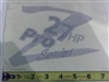 091-3020-00 27hp Z-Pro Series Decal