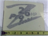 091-3048-00 26hp Z Pro-Series Decal