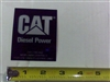 091-5402-00 Cat Powered Decal