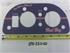 091-5511-00 2012 Diesel Instrument Panel-