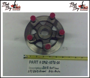 Disc Brake Rotor w/o discbrake - Bad Boy Part # 092-1075-00