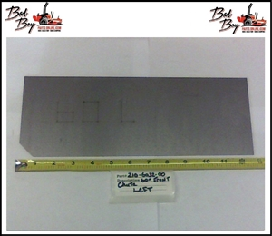 60 Front Chute Left - Bad Boy Part# 210-6032-00