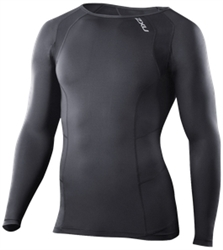 2XU Men's Vented Long Sleeve Compression Top