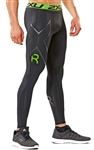 2XU Men's Refresh Recovery Compression Tights, MA4419b