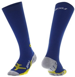 2XU Men's Flight Compression Sock, MA4429e