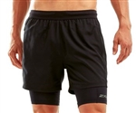 "2XU Men's 5"" 2 in 1 Compression Short"
