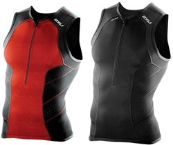 2XU Men's Perform Tri Singlet, MT3861a