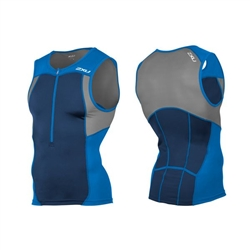 2XU Men's Active Tri Singlet, MT4362a