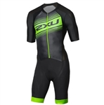 2XU Men's Comp Full Zip Sleeved Trisuit, MT4838d