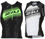 2XU Men's Compression Tri Singlet, MT4841a