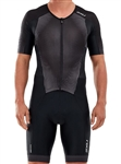 2XU Men's Performance Full Zip Sleeved Trisuit, MT5525d