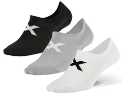 2XU Ankle Socks 3 Pack - M/L