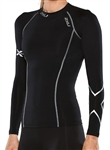 2XU Women's Thermal Long Sleeve Compression Top - WA2003a
