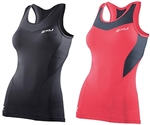 2XU Women's Compression Tank, WA2268a