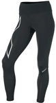 2XU Women's Run Mid-Rise Dash Compression Tights