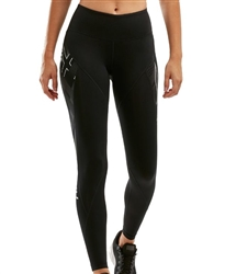 2XU Women's Mid Rise Textural Compression Tights