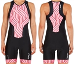 2XU Women's Perform Front Zip Trisuit, WT4855d