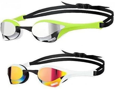 646a6b207936 Cobra Mirrored Swim Goggle by Arena
