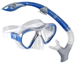 Aqua Lung Magellan/Atlantis Mask Snorkel Set