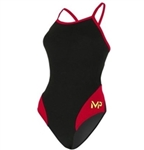 Aquasphere MP Mid Back Splice Girls' Swimsuit
