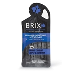 Brix Maple Syrup with Blueberry Energy Gel, Single