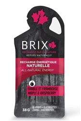 Brix Maple Syrup with Raspberry Energy Gel, Single